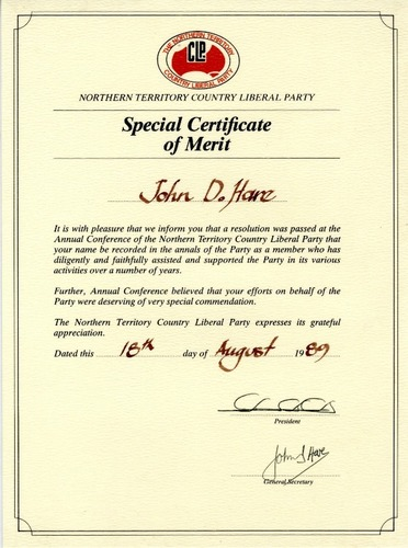 Preview medium special certificate of merit
