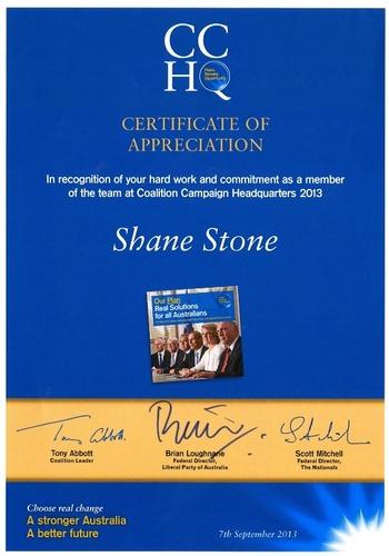 Preview medium certificate of appreciation election 2013
