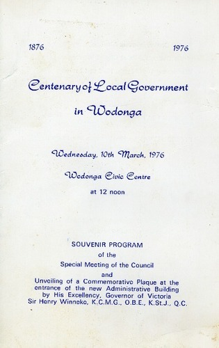 Preview medium centenary of local government wodonga circa 1976