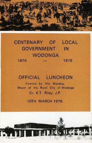 Preview medium centenary of local government wodonga luncheon circa 1976