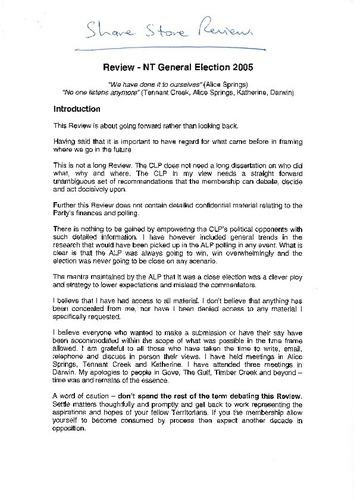 Preview medium stone report 2005