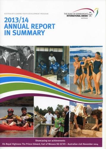Preview medium dofe annual report 2013 2014