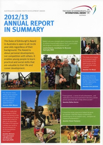 Preview medium dofe annual report 2012 2013