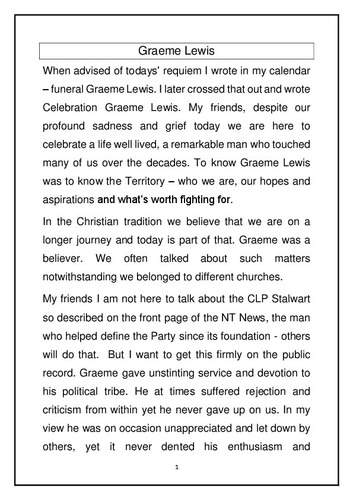 Preview medium graeme lewis obituary