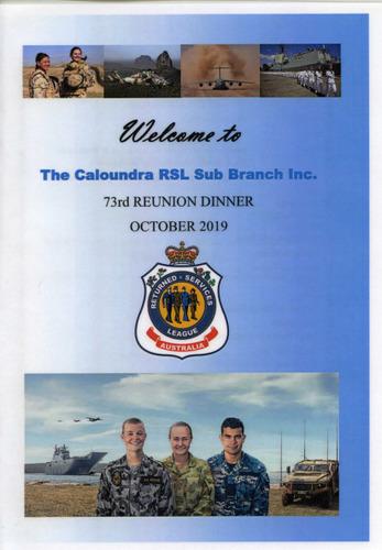 Preview medium caloundra rsl sub branch 73rd reunion dinner 5 oct 2019