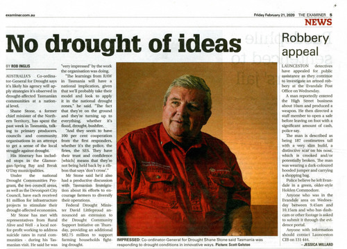 Preview medium  no drought of ideas  the examiner 21 february 2020