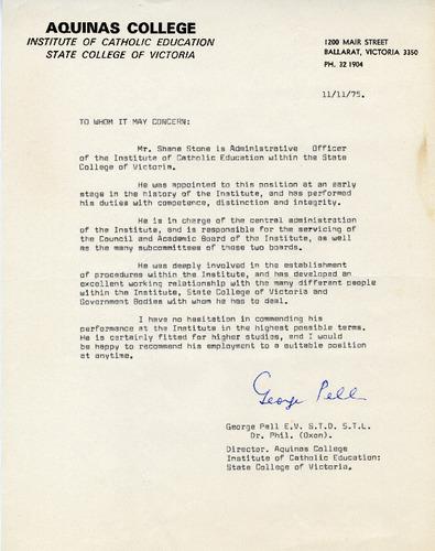 Preview medium reference rev fr. george pell 11 nov 1975