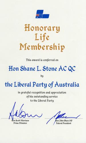 Preview medium honorary life membership liberal party of australia