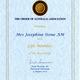 Preview thumbnail life member order of australia association jgs