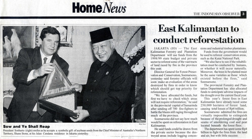 Preview medium indonesian observer 16 april 98