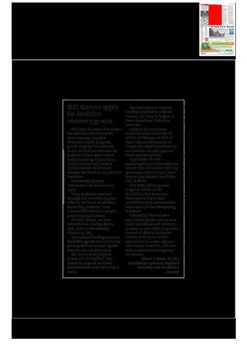 Preview medium sls letter to the ed bushfire grants