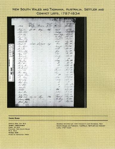 Preview medium david bush convict 1812