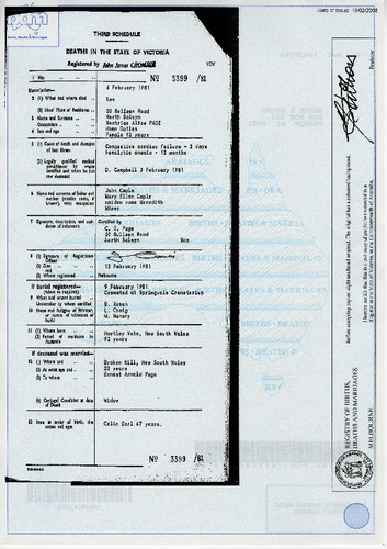 Preview medium death certificate beatrice alice page 6 feb 1981