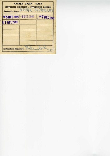 Preview medium aversa camp   italy australian education   attendance record circa 1949
