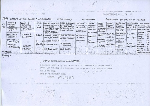Preview medium death certificate thomas bilston 5 june 1899