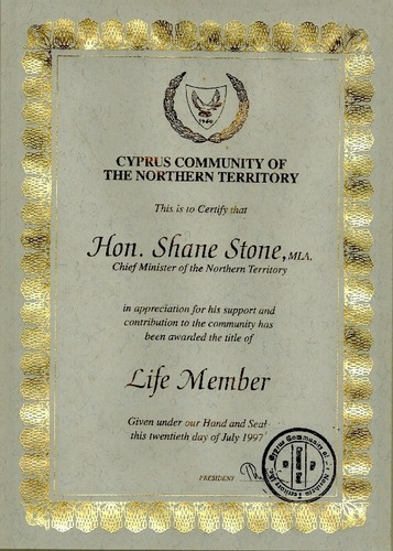 Preview medium life member cyprus community of the northern territory 20 july 1997