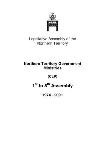 Preview medium nt ministry 1st to 8th assembly 1974   2001
