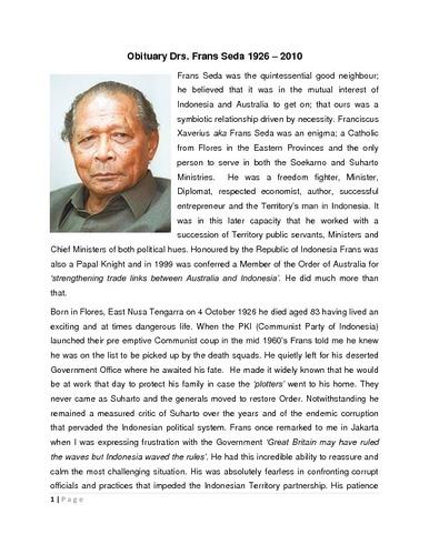 Preview medium obituary drs. frans seda 1926 2010