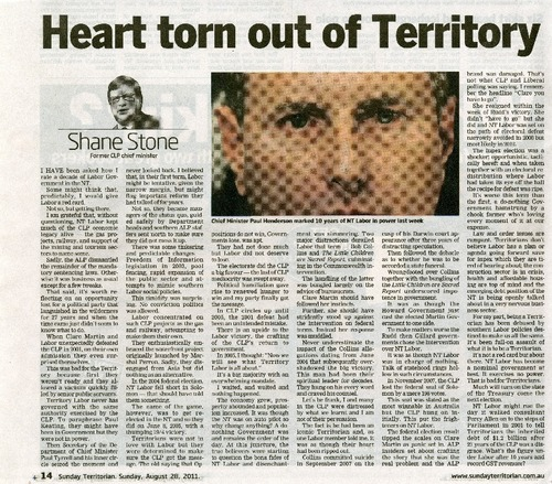Preview medium sunday territorian 10 years of nt labour 28 aug 2011