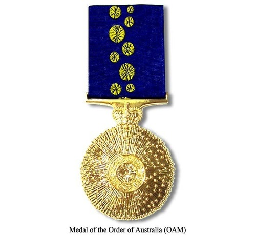 Medium medal of the order of australia