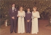 Thumbnail groomsmen and bridesmaids   jonn osbestian  anna novak  terry stone   diane moloney circa dec 1977