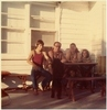 Thumbnail terry  les  pam   susan. monnie the poodle. lawrence street before the extension.