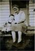 Thumbnail nana stone with shane at derby school house circa 1951