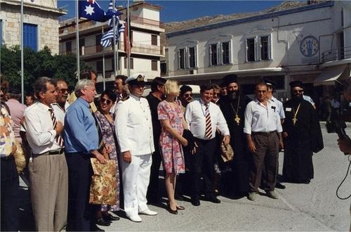 Medium state visit to kalymnos greece  2  circa 1995