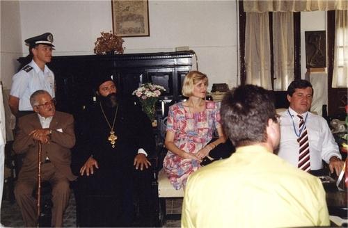 Medium state visit to kalymnos greece  5  circa 1995