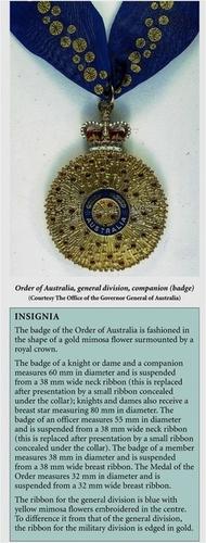 Medium companion and description of badges