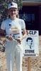 Thumbnail josie campaigning for shane sadadeen circa 1987