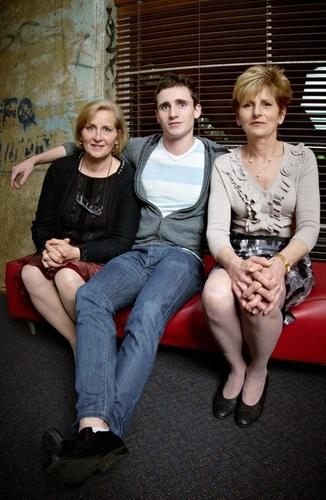 Medium jack stone with his aunties anna novak and dianne maloney 21st birthday brisbane