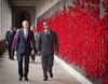 Thumbnail director of the awm dr brendan nelson ao and hih prince ermias roll of honour 22 june 2017