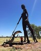 Thumbnail josie stone airelon roadhouse scupture of aboriginal women and her child 20 march 2017