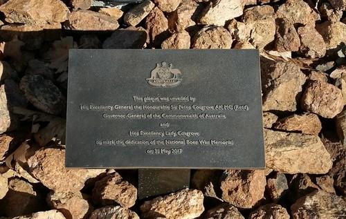 Medium boer war memorial canberra