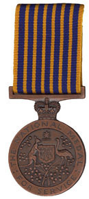 Medium national medal   northern territory police eligible.