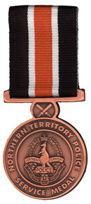 Medium police medal   northern territory police