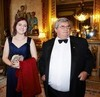 Thumbnail madeleine and shane stone pre dinner drinks buckingham palace london 8 july 2014