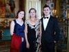 Thumbnail madeleine  josephine and jack stone pre dinner drinks buckingham palace london 8 july 2014
