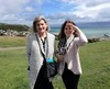 Thumbnail josephine and madeleine stone background english channel hastings uk 25 july 2017