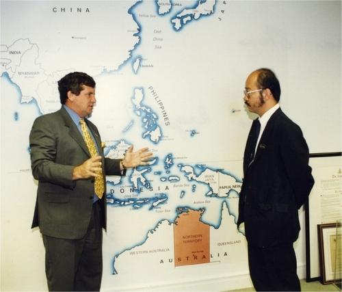 Medium h.e datuk chief minister yong teck lee of sabah circa 1998