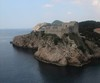 Thumbnail castle built on outcrop croatia