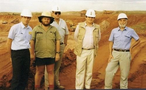 Medium granites mine