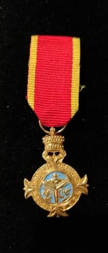 Medium minature medal order of the trinity