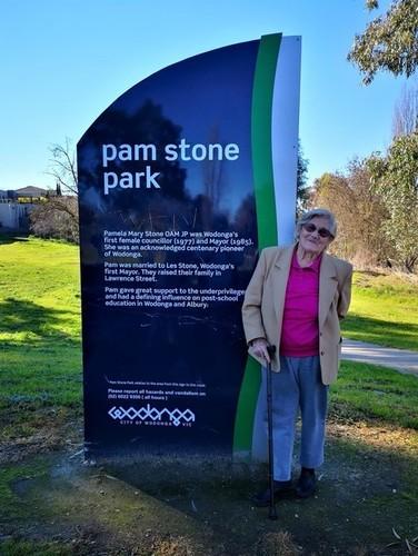 Medium pam at pam stone park 17 aug 2019