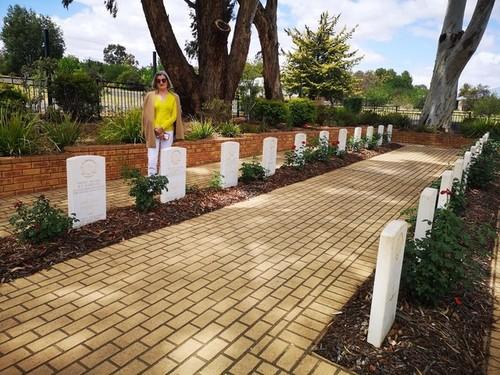 Medium corwra war cemetery and jgs