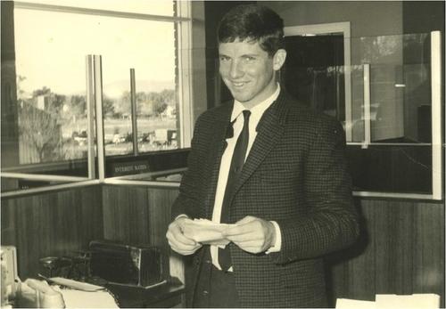 Medium shane the bank clerk  bank of nsw wodonga 1969