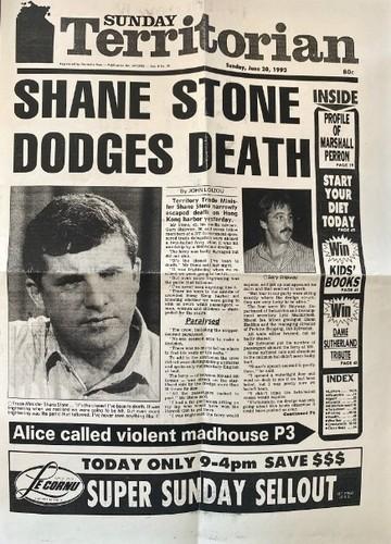 Medium shane stone dodges death sunday terrtorian