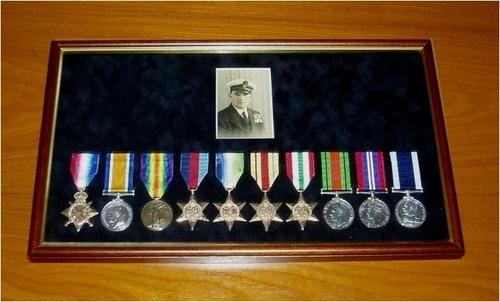 Medium percy stone medals ww1   ww2